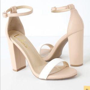 Taylor Color Block Heels